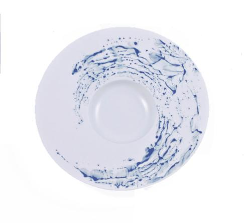 Blue Impression Medium Rim Soup