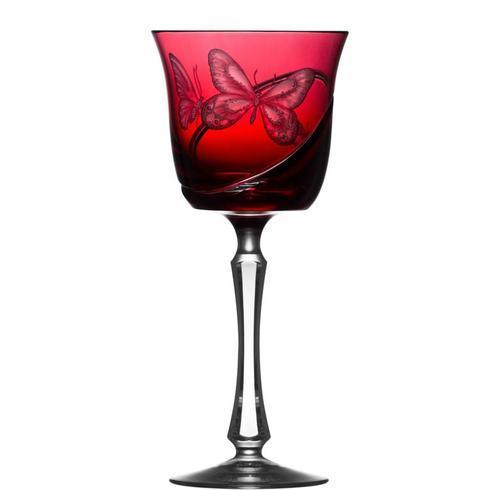 Raspberry Wine Glass