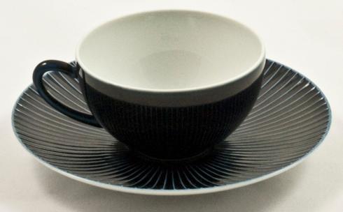 Blue Bolero Tea Cups & Saucers Set of 12