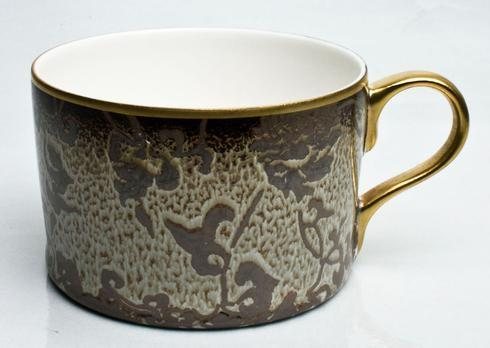 English Rose on Song Ivory Gold Finition Tea Cup