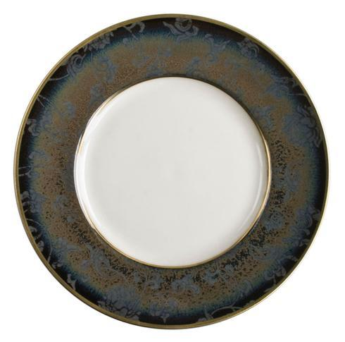 English Rose on Song Taupe Gold Finition Bread & Butter Plate