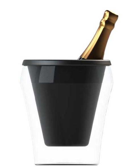 Champagne Bucket and Silicon Insert