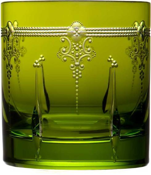 Yellow/Green Double Old Fashioned
