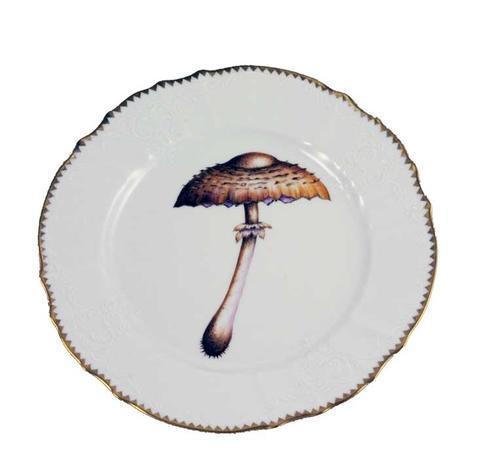 Mushroom Dinner Plate #4