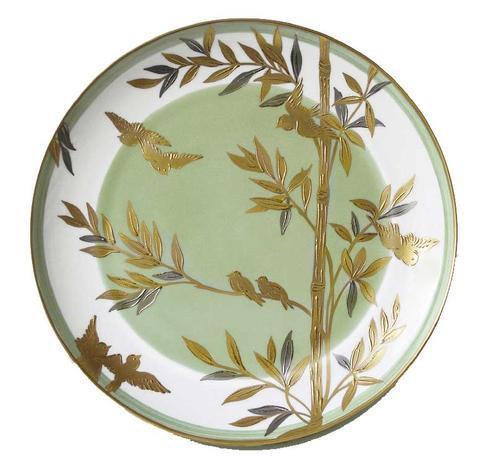 Green Center Dinner Plate