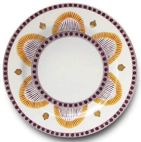 Orange Dessert Plate