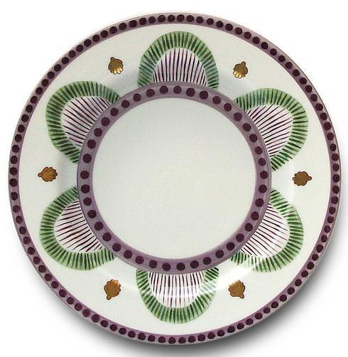 Green Dessert Plate