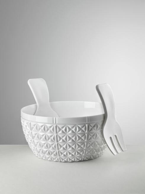 Salad Bowl White