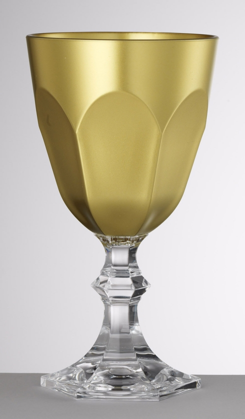 Gold Water Goblet
