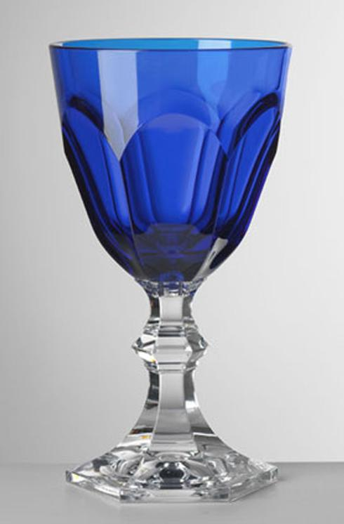 Blue Wine Goblet