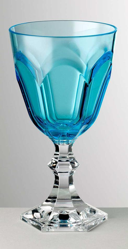 Turquoise Water Goblet
