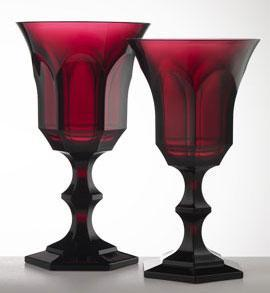 Ruby Water Goblet