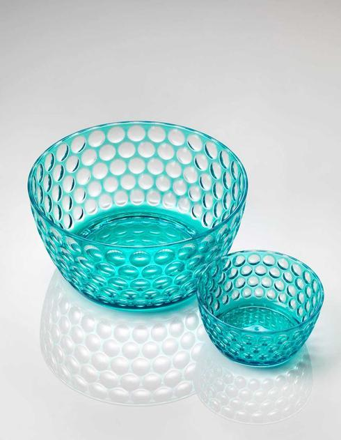 Turquoise Snack/Cereal Bowl