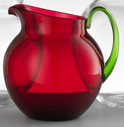 Ruby/Green Pitcher