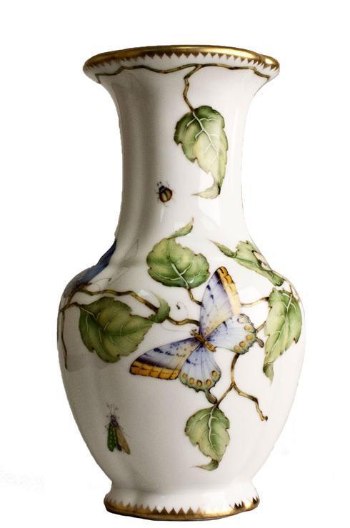 Ivy Butterfly Vase