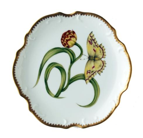 Yellow Tulip Bread & Butter Plate