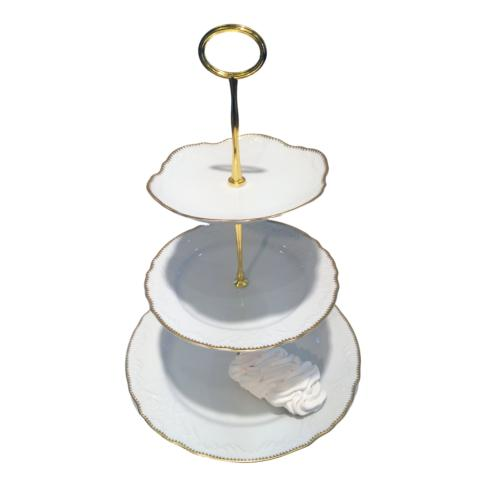 3 Plate Tiered Cake Stand