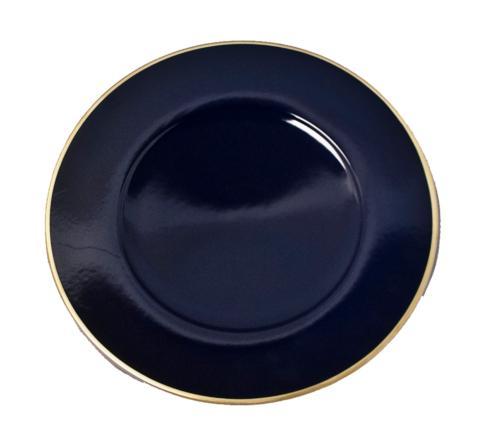 Cobalt Charger Set of 6