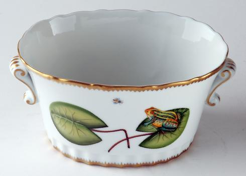 Oval Frog Cache Pot