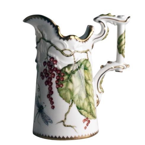 Wildberry Red Antique Pitcher/Vase