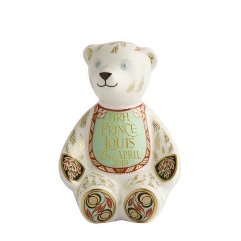 Royal Birth Bib Bear - Limited Edition