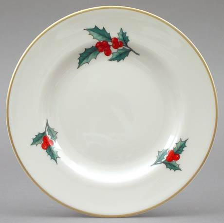 Holly Butter Plate