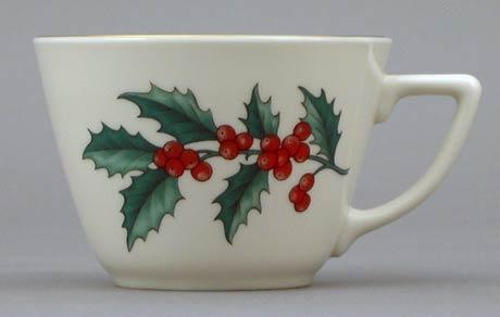 Holly Dessert Mug
