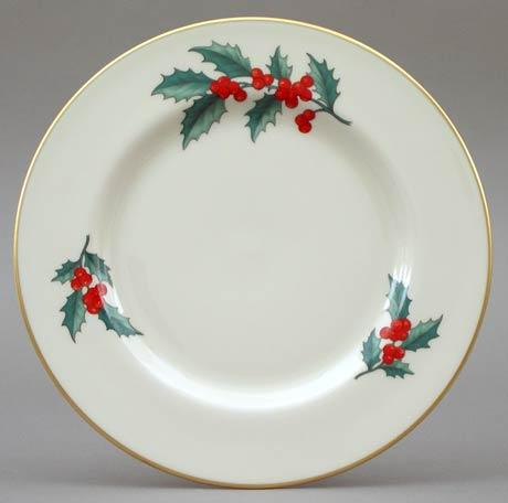 Holly Salad Plate