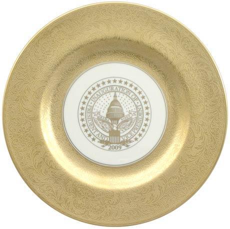 President Barack Obama Commemorative Gift Plate for 2009 Inauguration