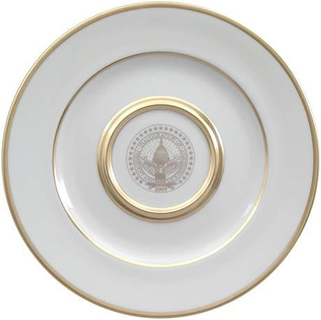 President Barack Obama Commemorative Gift Plate for 2009 Inauguration