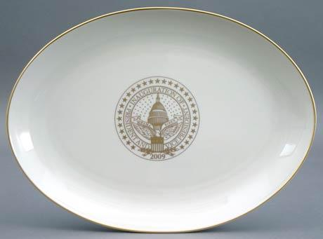 President Barack Obama Commemorative Platter for 2009 Inauguration
