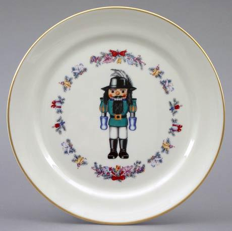 Christmas Nutcracker Plate