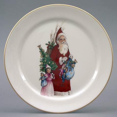 Victorian Santa & Child