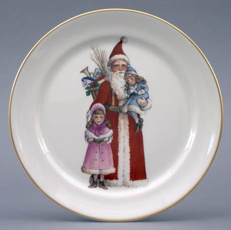 Victorian Santa & Children
