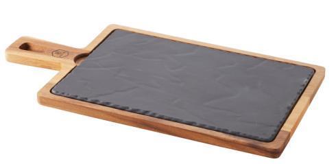 Medium Wood Tray and Chees Board