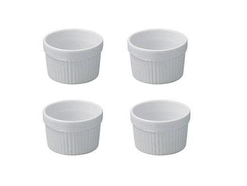 Set of 4 Individual Small Souffles