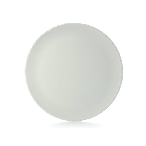 $59.99 Round Plate Large Satin White
