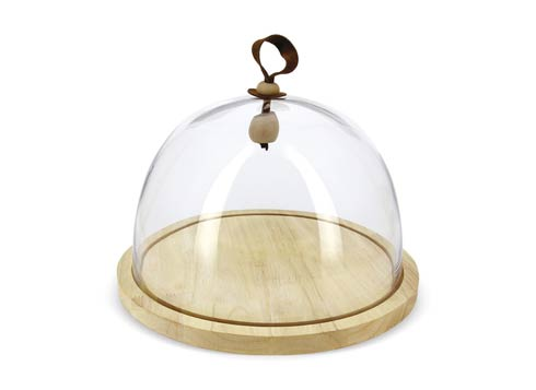 $79.99 Glass Cloche  Ø10.75 With Base