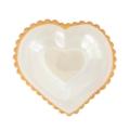 "Annieglass Hearts 8"" Sweatheart bowl"