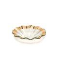 """Annieglass Ruffle 7"""" bowl"""