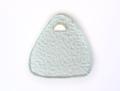 """Annieglass Trivets 9x8"""" triangular trivet-Tear Drop"""