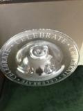 Simon Pearce Engraved Celebration Bowl