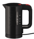 39.95 17 OZ BLK ELEC WATER KETTLE