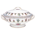 Bernardaud Chateaubriand Blue Covered Soup Tureen