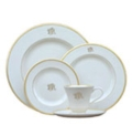 BB & G Exclusives Special Items - Custom Dinnerware! Pickard Dinner Plate - Gold Rim - with monogram