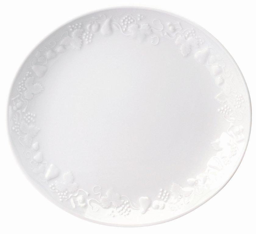 Deshoulieres Blanc de Blanc Big Oval Steack Plate