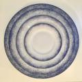 Royal Limoges Recamier - Blue Fire Bread & butter plate
