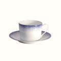 Royal Limoges Recamier - Blue Fire Tea saucer
