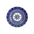 Royal Limoges Recamier - Blue Star Bread & butter plate