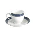 Royal Limoges Recamier - Blue Star Coffee saucer